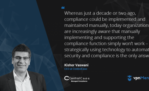 "ControlCase CEO speaks on ""Automating Compliance"""