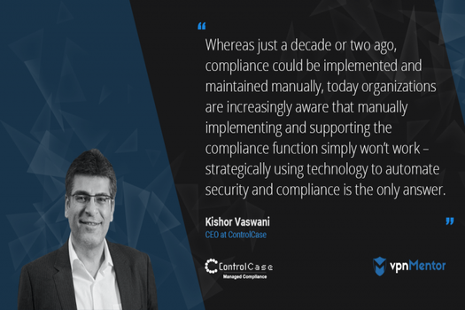 ControlCase CEO speaks on Automating Compliance